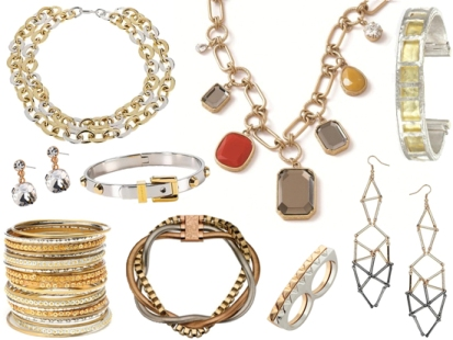 Tips: Using gold and silver jewelry at the same time ...