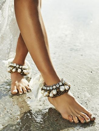 wedding ankle bracelets