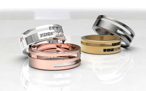 stones for wedding bands