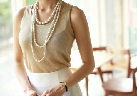 wear pearls