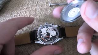 removing water from watch