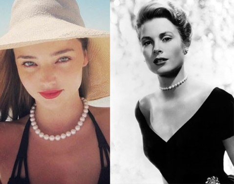 grace kelly and miranda kerr