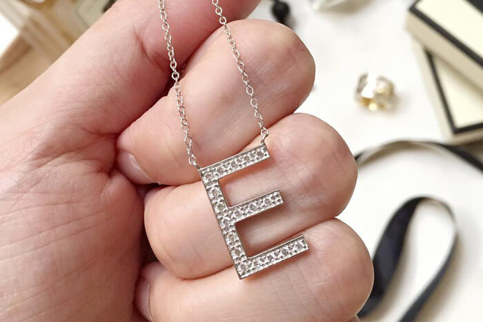 letters in jewelry
